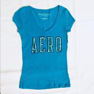 Aero Blue Tee